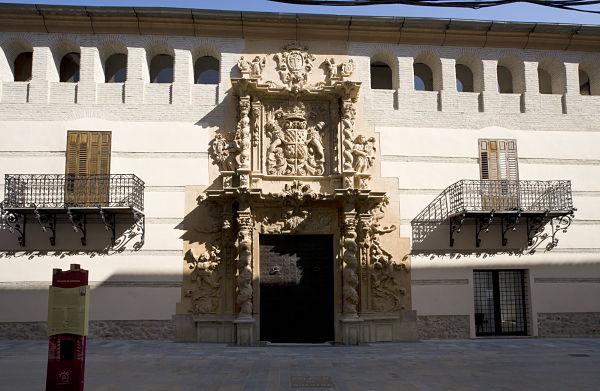 palacio guevara fachada