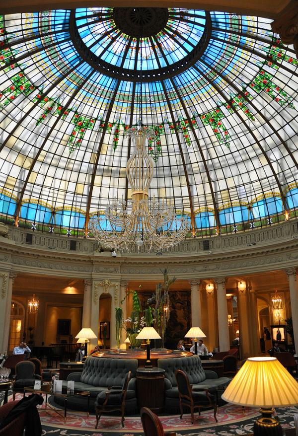 hotel palace madrid cupula
