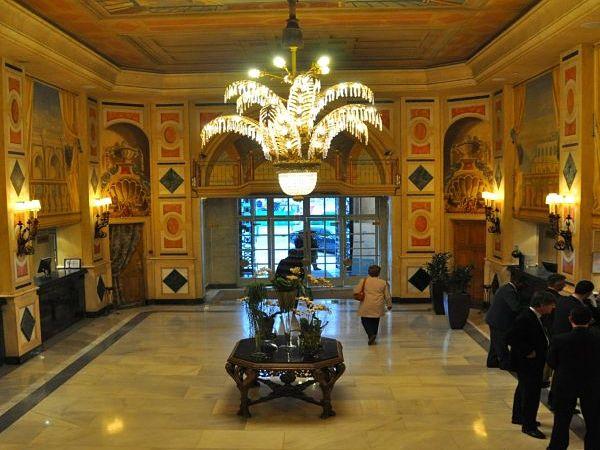 hotel palace madrid hall