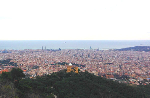 mirador tibidabo barcelona