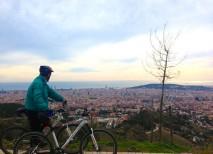 tibidabo carretera aguas barcelona