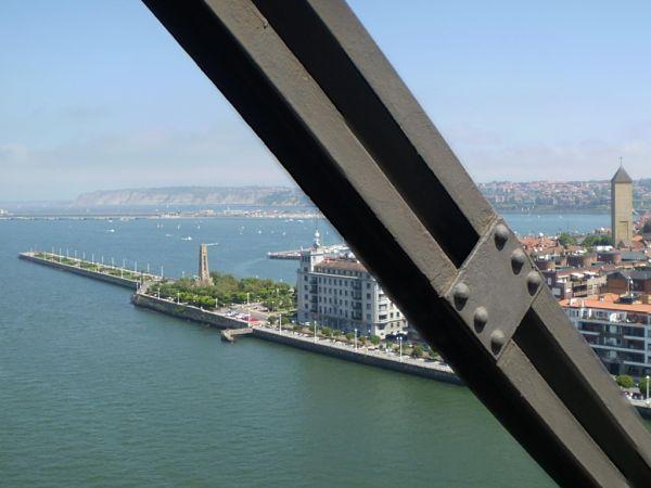 puente colgante bilbao precio