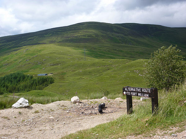 West Highlands Way ruta alternativa