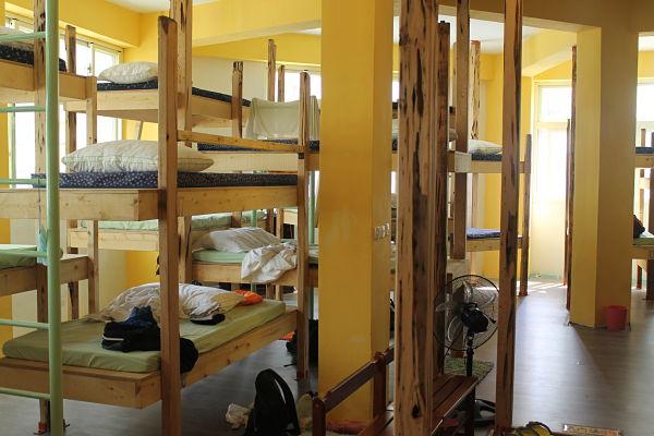 hostales habitaciones compartidas