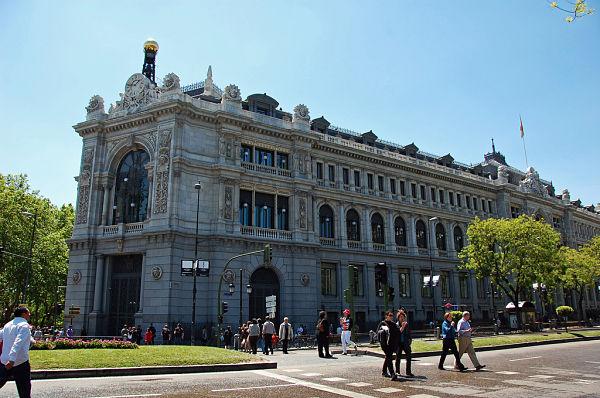 plaza cibeles banco españa