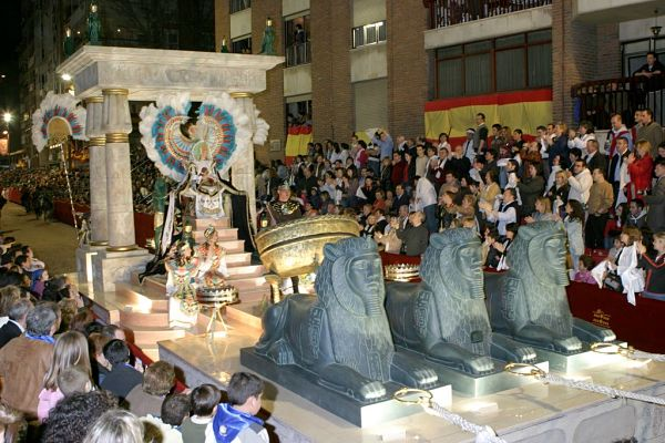 semana santa Lorca carroza Saba