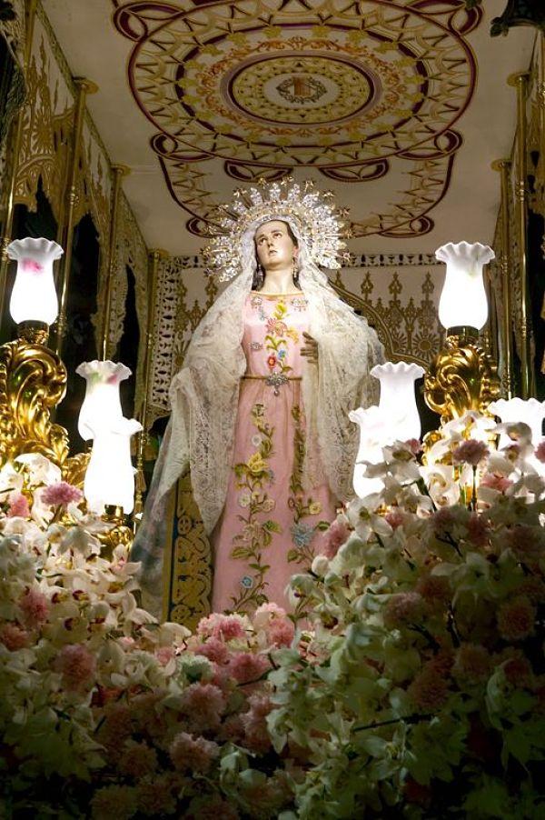 semana santa Lorca virgen Armagura