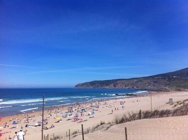 pasear guincho playa lisboa