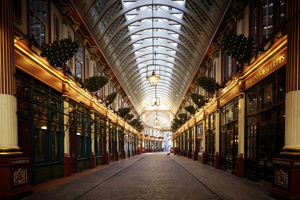 Leadenhall Market Londres Harry Potter