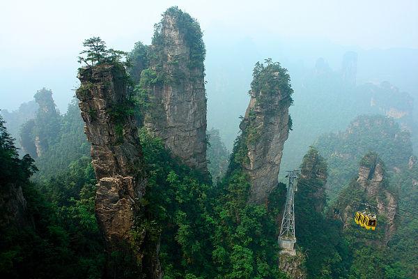 escenarios peliculas bosque zhangjiajie china