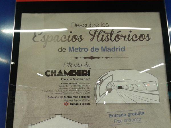 chamberi metro madrid estaciones