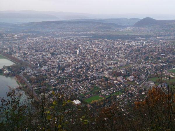 Mont Veyrier Annecy vistas