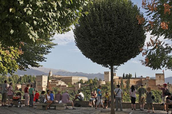 albaicin mirador nicolas alhambra