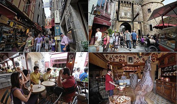 Calles Monte Saint Michel