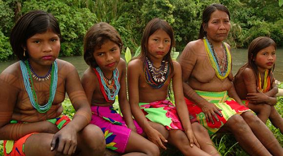 Indígenas Emberá