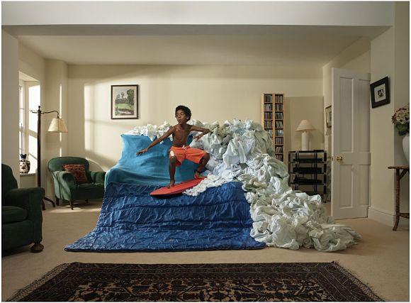 Surfeando las olas del sofá