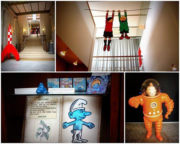Museo del Comic en Bruselas, Bélgica