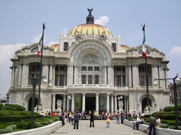 Museo Palacio de Bellas Artes de México DF