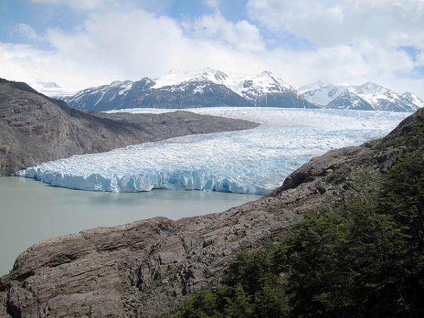 parque nacional torres paine glaciar