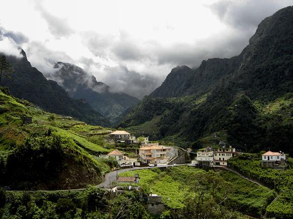 Vistas de la Isla de Madeira
