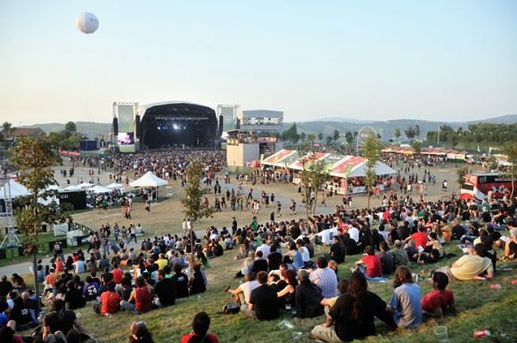 Imagen tomada en un concierto del Bbk Live de años anteriores