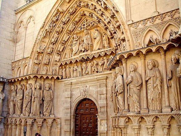 Puerta de la Coronería de la Catedral de Burgos