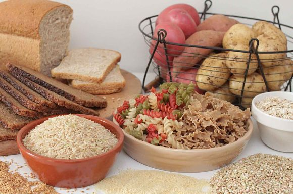 Pasta y arroz, ejemplo de comida rica en carbohidratos