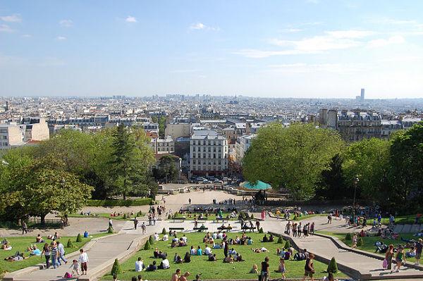 Montmartre paris basilica sagrado corazon