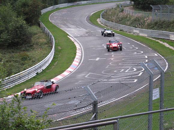 Fotografía tomada en el antiguo Circuito de Nürburgring