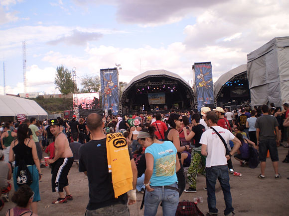 En verano se organizan infinidad de festivales de música