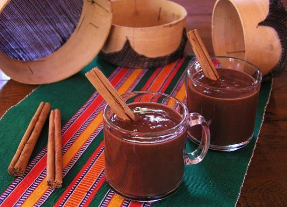 El champurrado es una bebida caliente típica de México