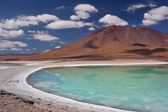 Imagen de la fascinante Laguna verde