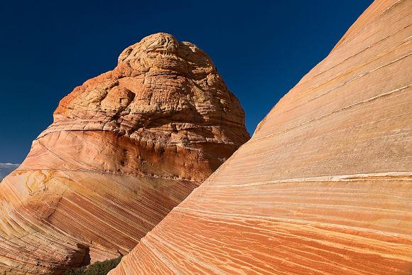 Para llegar a la Ola del Desierto, tendremos que atravesar paisajes escarpados y caminos difíciles