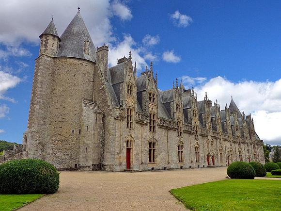 Castillo Josselin Bretaña