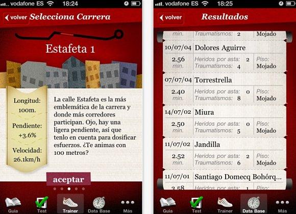 Bullrunning Trailer, aplicación para los Sanfermines en tu iPhone, iPad e iPod touch