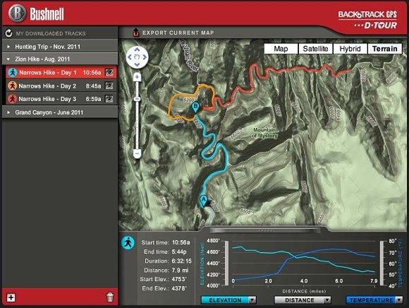 El Bushnell Backtrack D-Tour es un GPS que utiliza la tecnología de Google Maps