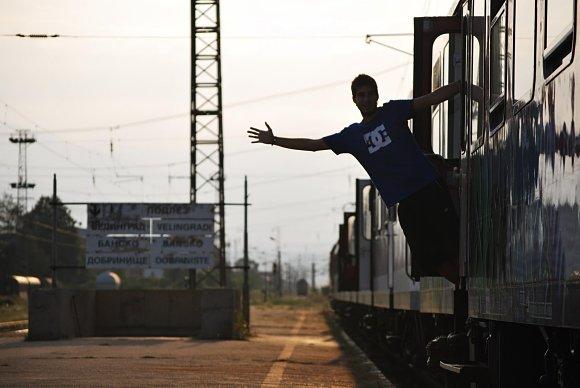 Al viajar en InterRail hay que pasar muchas horas en tren