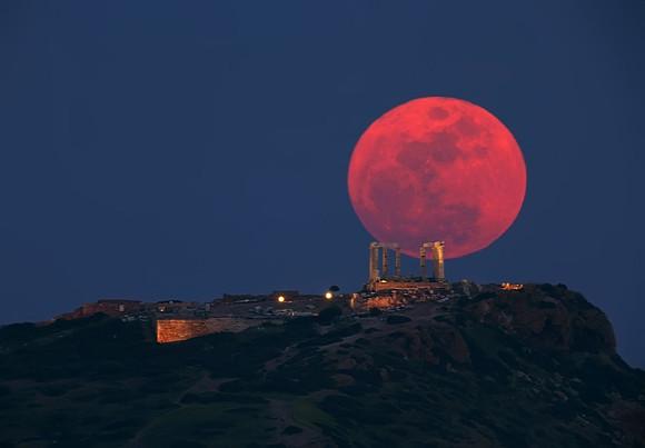 Hoy, miércoles 15 de junio de 2011, hay un eclipse total de luna
