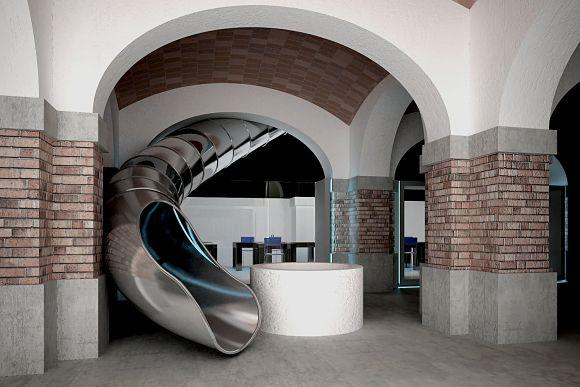Fotografía del interior del Museo de Ideas e Inventos de Barcelona (MIBA)