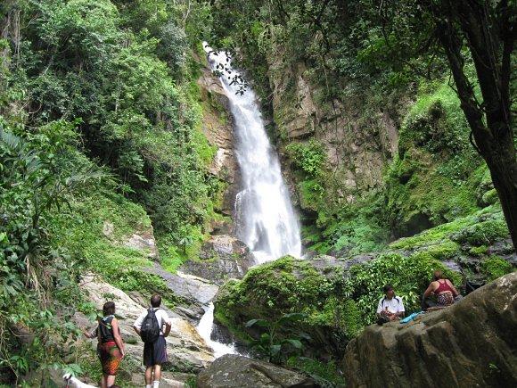 Cascada del Norte dentro del Parque Nacional El Ávila en Venezuelas