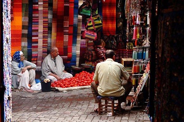 """El """"regateo"""" en Marruecos, es la forma más común de compra-venta de productos"""