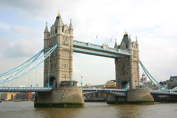 Tower Bridge de Londres, fotografía del puente más famoso del Reino Unido