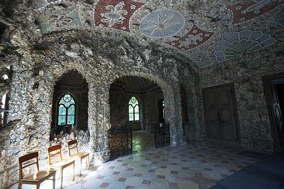 El Magdalenenklause son unas falsas ruinas construidas con piedras y conchas
