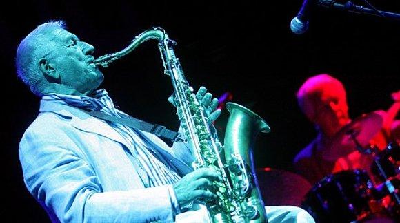 Pedro Iturralde tocó el 7 de julio en el escenario de Jazzfermin de las Fiestas de San Fermín