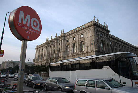 El Museumsquartier de Viena es uno de los espacios más grandes del mundo dedicado a la cultura