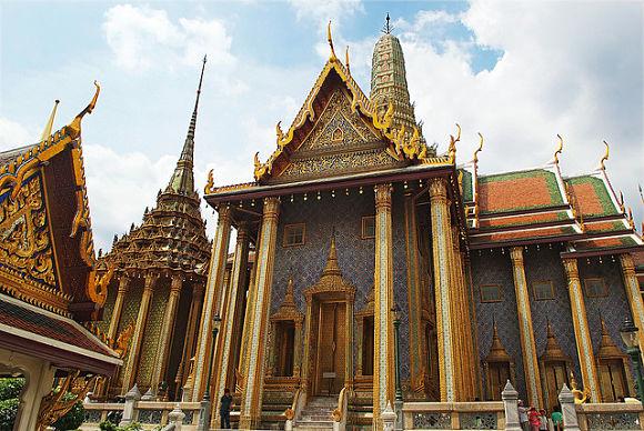 edificios Gran Palacio Real Bangkok