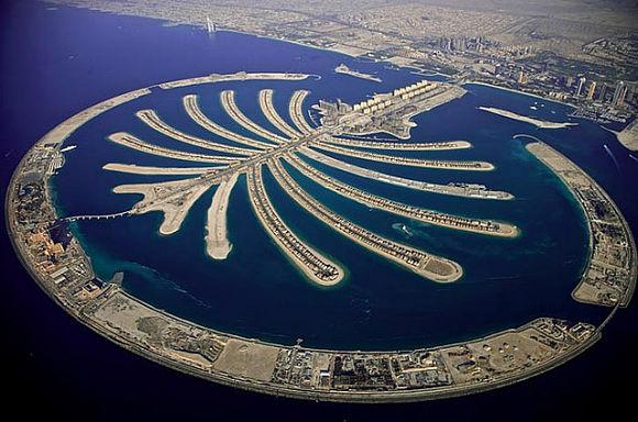 La isla de Jumeirah es la más pequeña, pero es posiblemente la más animada