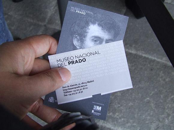 Museo del Prado entradas