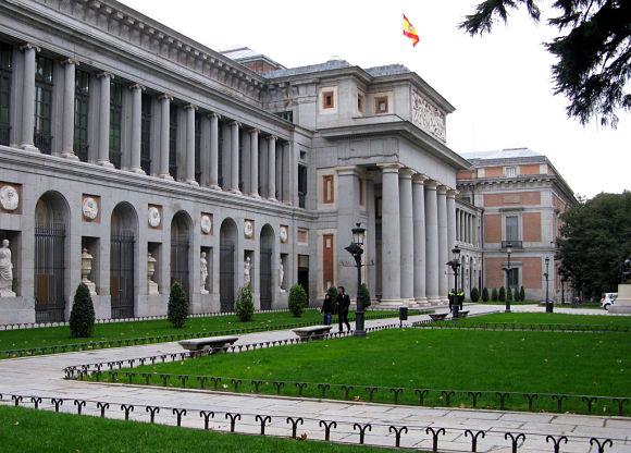 Museo del Prado exteriores