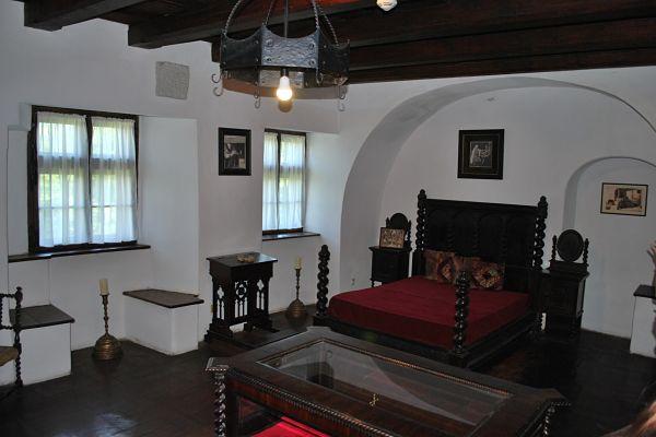 castillo bran dormitorio real